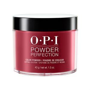 OPI Powder Perfection Chick Flick Cherry 1.5 oz