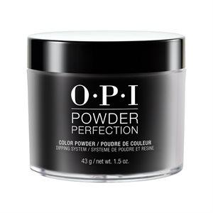 OPI Powder Perfection Black Onyx 1.5 oz