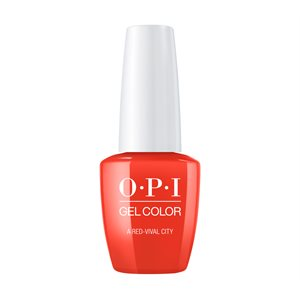 OPI Gel Color A Red-vival City 15ml (lisbon collection) -