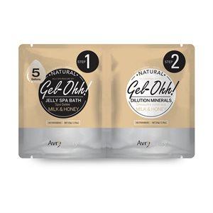 AVRY Gel-Ohh Jelly Spa Pedi Bath - LAIT & MIEL