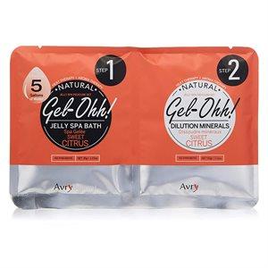 AVRY Gel-Ohh Jelly Spa Pedi Bath - Agrumes doux