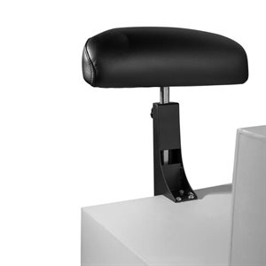 Belava Mounting Foot Rest Black coating - Black Upholstery +