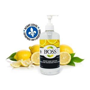 Bioss Desinfectant a Main au Citron 500 ml (75% Alcool) -