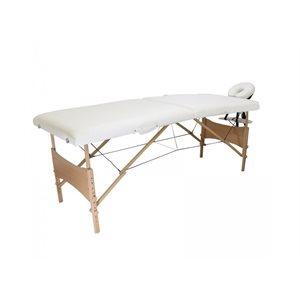 Table de Massage Portative Blanche Ch205 - 26 pouces -