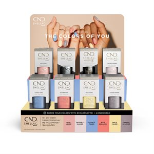 CND SHELLAC The Colors of You POP DISPLAY -