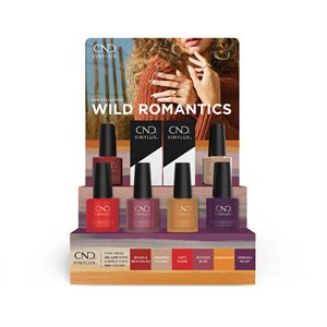 CND Vinylux POP Display Collection Wild Romantics (Products Inlcuded)
