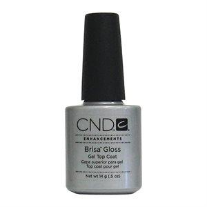 CND BRISA Gloss Gel Top Coat Clair 0.5 oz