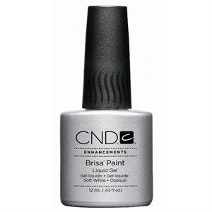 CND BRISA PAINT SOFT WHITE OPAQUE .43 oz (12ml)