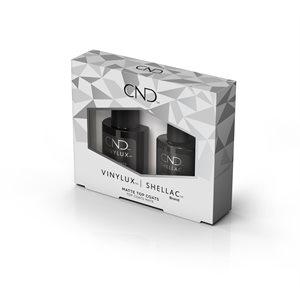 CND Shellac & Vinylux Matte Top Coat Duo Pack -