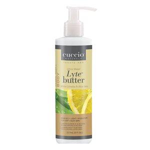 Cuccio Crema Ultra Suave Limon & Aloe Vera 8 oz