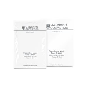 Janseen Bio Cellulose Mask Face and Neck (3 units) -
