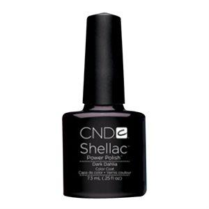 Kit 1 x Shellac Vernis UV Dark Dahlia 7.3 ml
