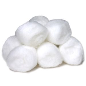 KIT 2 X Ouates Coton Large Non Sterile (1000)