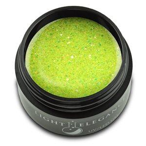 Light Elegance Bad Banana UV / LED Glitter Gel 17ml (Summer Squeeze)