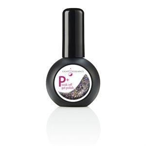 Light Elegance P+ Elvis Pelvis UV / LED Vernis Gel 15ml Glitter +