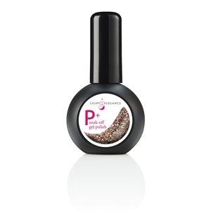 Light Elegance P+ Champagne UV / LED Vernis Gel15ml Glitter +