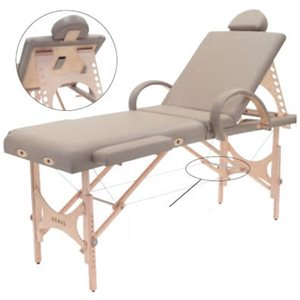 """Nomad Spa Beauty Bed Table 24""""+"""