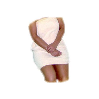 WRAP ARROUND LARGE COTTON WHITE